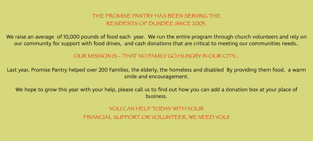 Promise Pantry Promise Center